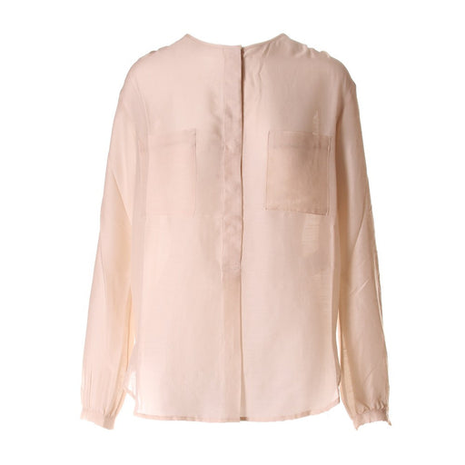 PHISIQUE DU ROLE Womens beige silk/wool Shirt