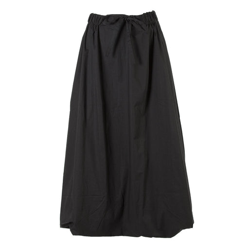 BIONEUMA womens black organic cotton Long skirt