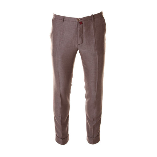 OBVIOUS BASIC mens light brown Chino pants