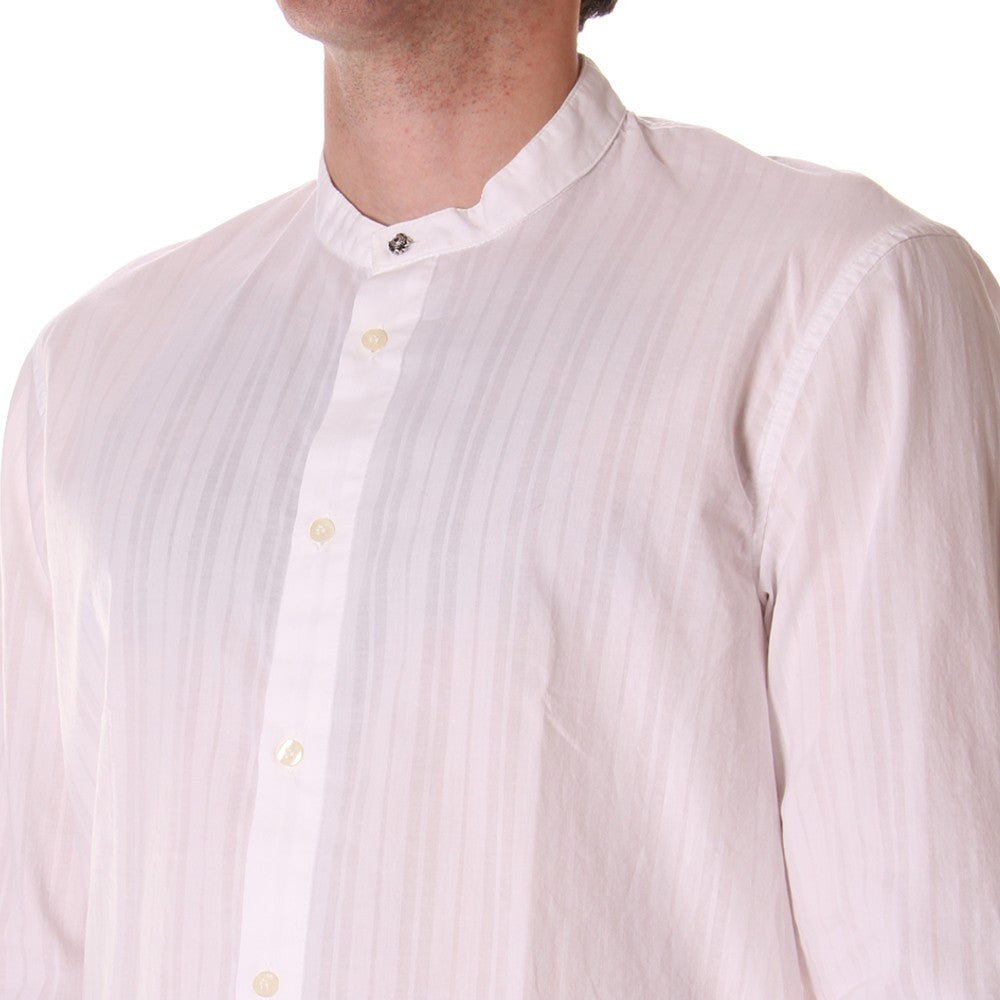 OFFICINA36 mens white korean collar Shirt