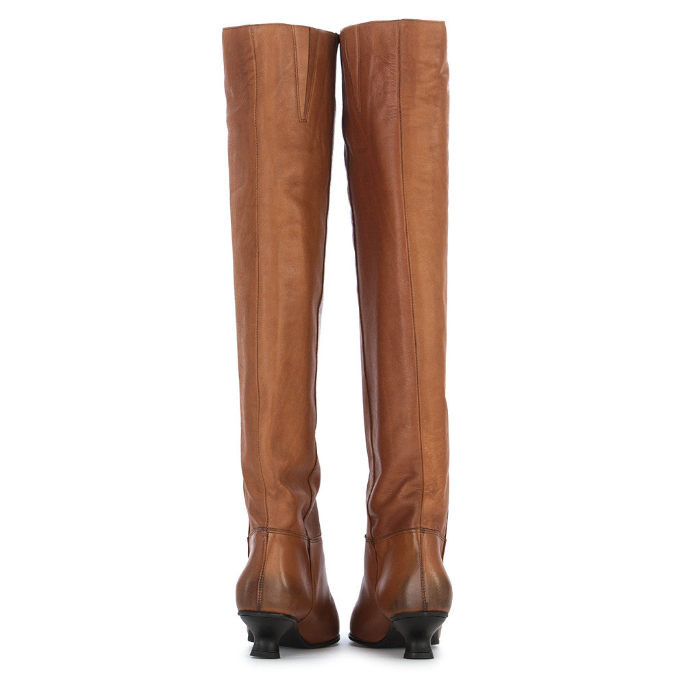 POESIE VENEZIANE Womens brown leather Boots