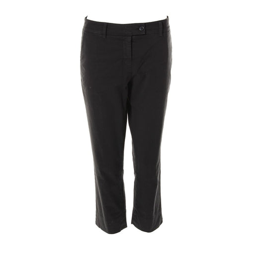 KUBERA 108 womens black stretch cotton Chino pants