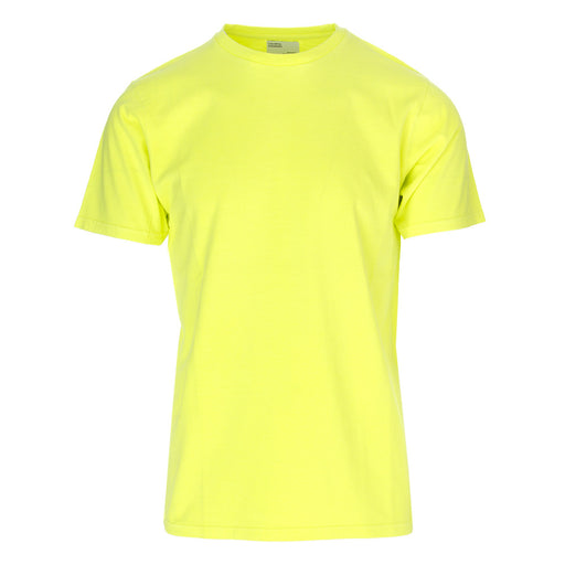 COLORFUL STANDARD unisex fluorescent yellow T-shirt