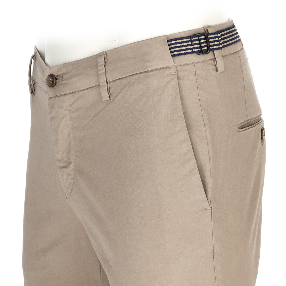 MASON'S mens beige sand cotton Milano chino pants