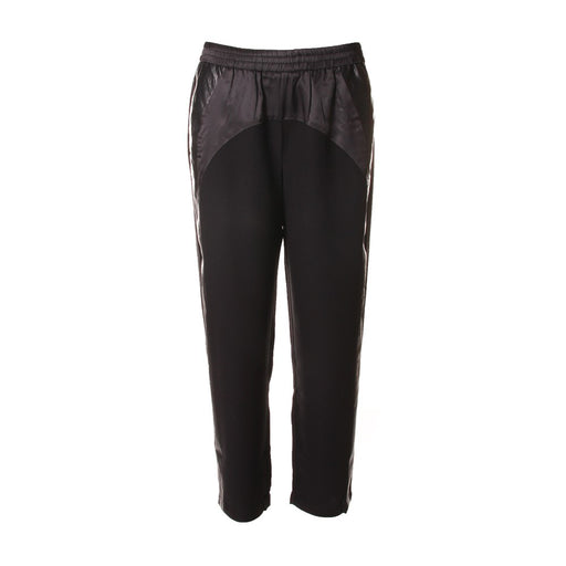 8PM womens soft black synthetic Trousers