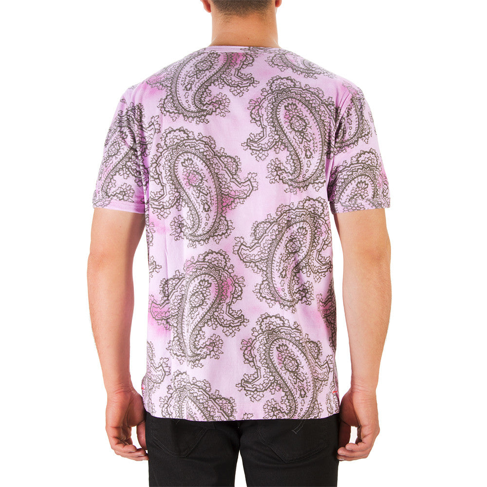 BEST COMPANY mens melange pink cotton T-shirt