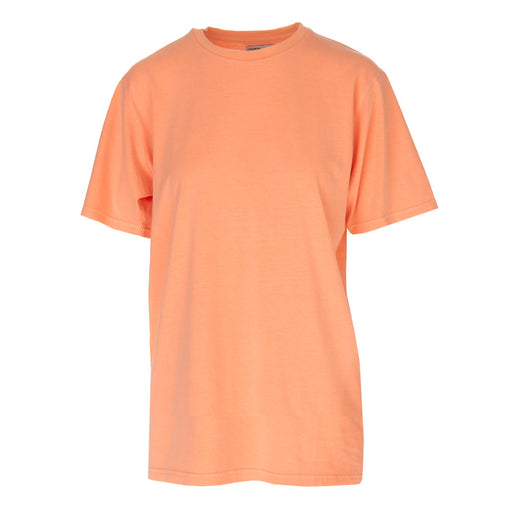 COLORFUL STANDARD unisex fluorescent peach T-shirt