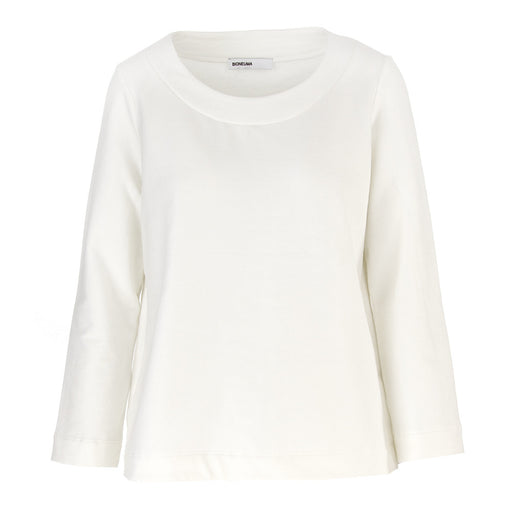 BIONEUMA womens white stretch cotton Sweatshirt