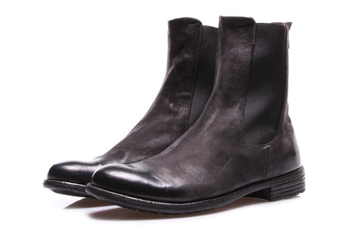 OFFICINE CREATIVE womens black leather Chelsea boots