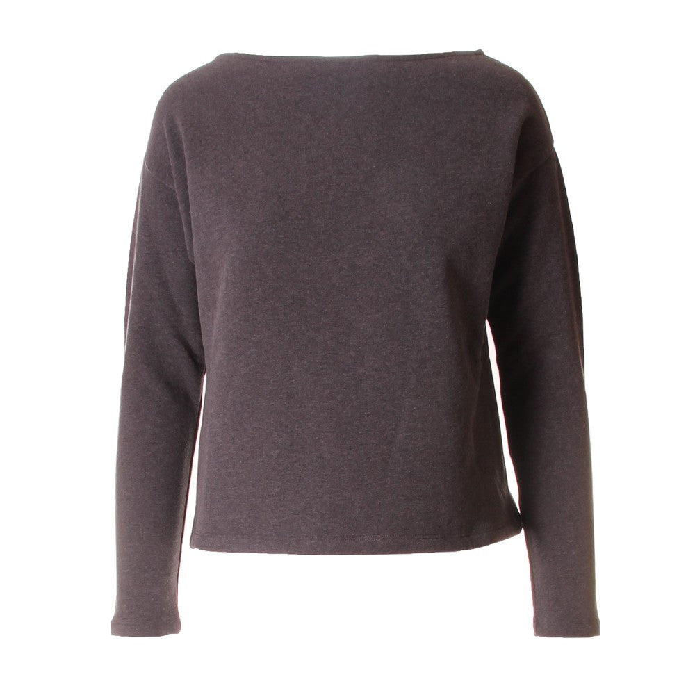 BIONEUMA womens grey elasticized cotton Sweatshirt