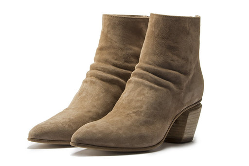 OFFICINE CREATIVE womens beige suede Ankle boots