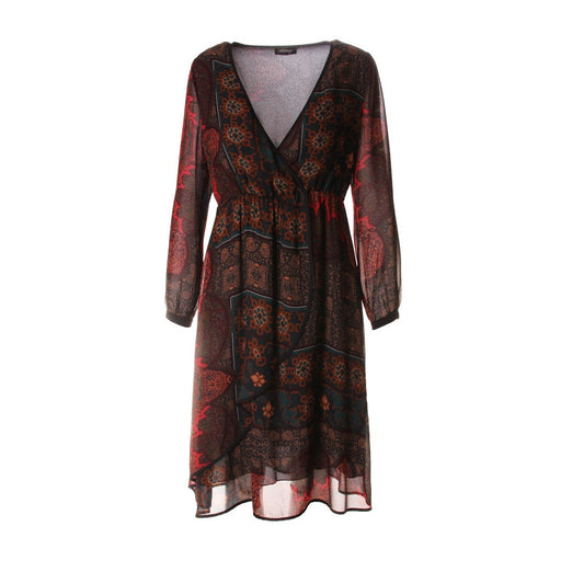OTTOD'AME Womens multicolor viscose Dress