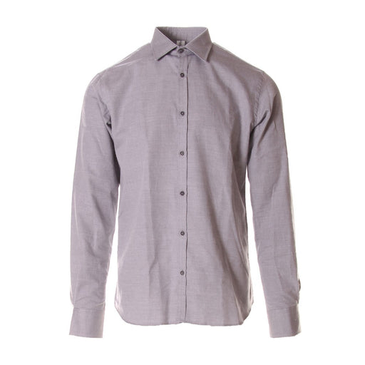 ETICHETTA 35 mens grey cotton Shirt