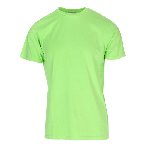 COLORFUL STANDARD unisex fluorescent green T-shirt