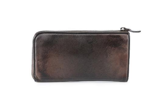 REPTILE'S HOUSE womens dark brown calf leather Wallet