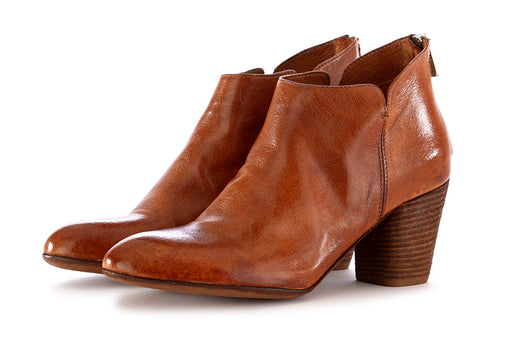 officine creative womens ankle boots leather glossy brown