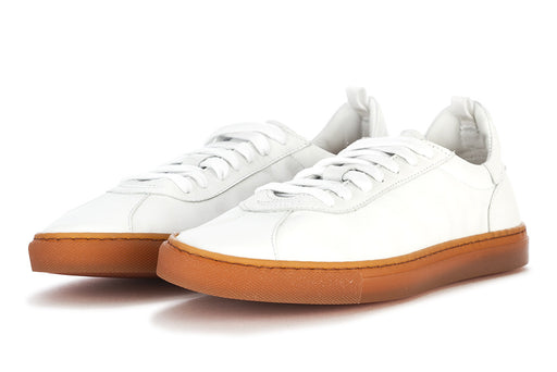 MANOVIA 52 womens white leather Sneakers