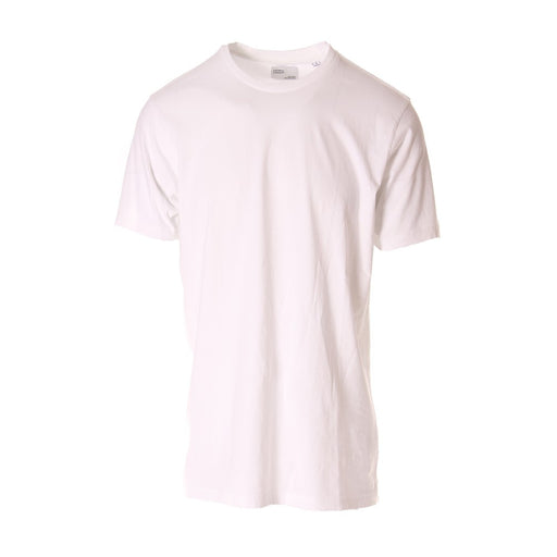 COLORFUL STANDARD unisex white cotton T-shirts