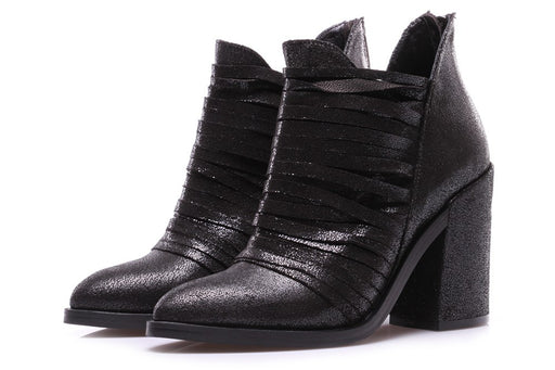 SALVADOR RIBES womens black Clery 2 Ankle boots
