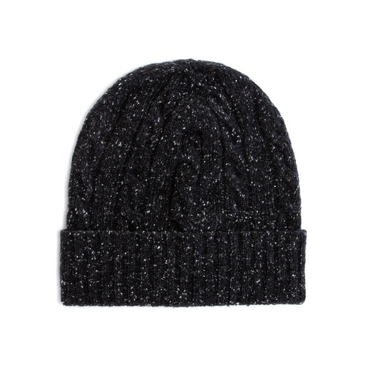wool and co beanie hat black