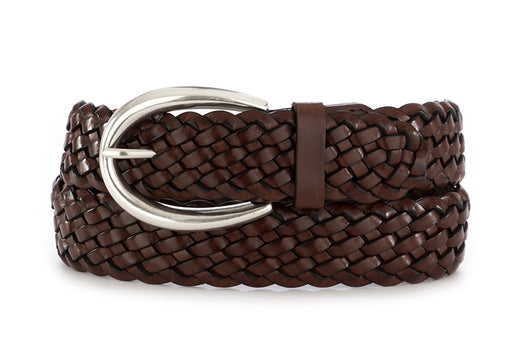 "Orciani womens belt ""Masculine"" brown leather"