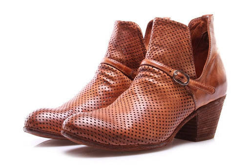 OFFICINE CREATIVE womens cognac brown Ankle boots