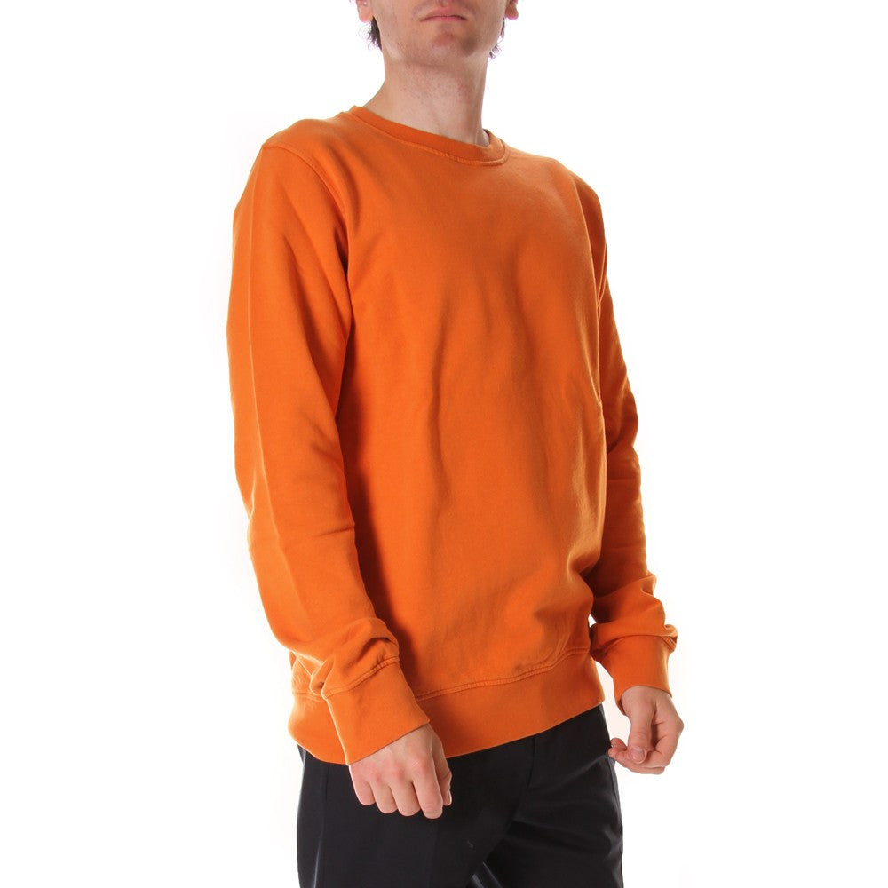 COLORFUL STANDARD unisex orange cotton Sweatshirts