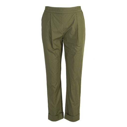 Semicouture | pants military green cotton