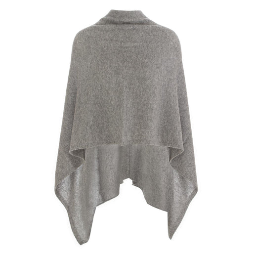 riviera cashmere women's cape grey