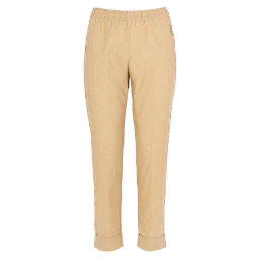 semicouture beige cotton pants
