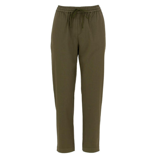semicouture pants cotton military green