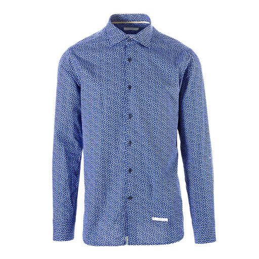 TINTORIA MATTEI 954 mens blue cotton Shirt
