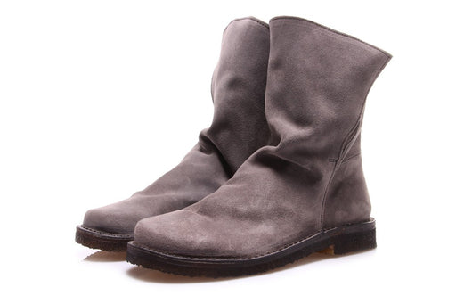MANUFATTO TOSCANO womens grey suede Ankle boots
