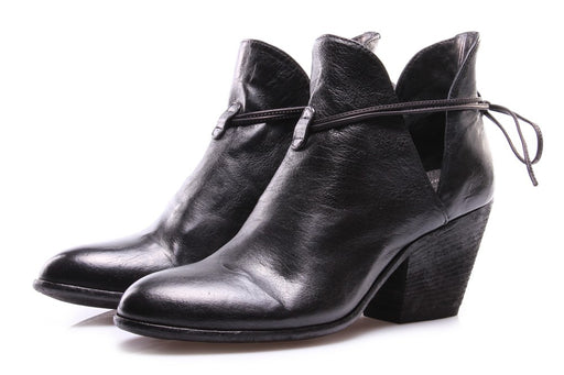 OFFICINE CREATIVE womens black texan heel Ankle boots