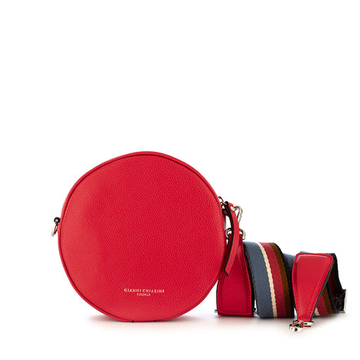 gianni chiarini tamburello crossbody bag red