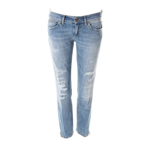 DONDUP womens light blue denim Jeans