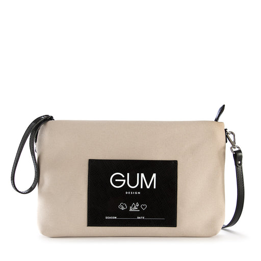 GUM CHIARINI womens beige Wristlet/shoulder bag