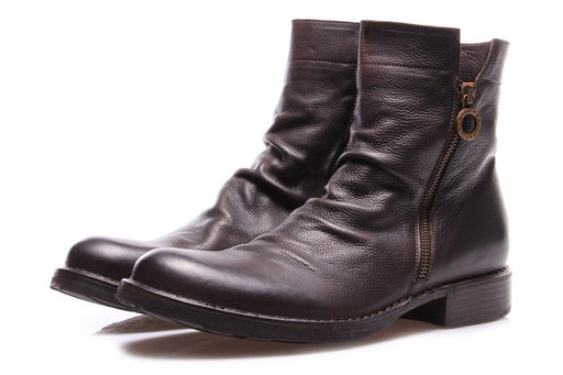 FIORENTINI + BAKER mens coffee brown Ankle boots