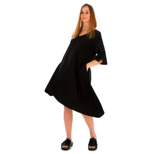 BIONEUMA | DRESS BLACK COTTON