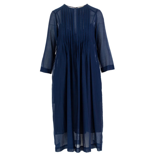 semicouture dress cotton blue
