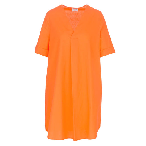 1978 womens dress orange