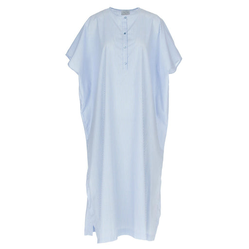 1978 womens dress coreana white light blue