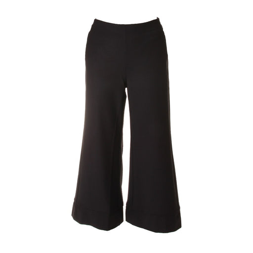 PHISIQUE DU ROLE Womens black wool blend Trousers