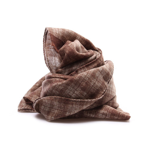 DANDY STREET mens brown wool Scarf
