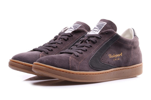 VALSPORT 1920 Mans sneakers grey / brown suede leather