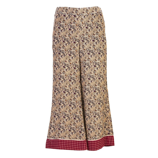 PHISIQUE DU ROLE Womens floral viscose Palazzo pants