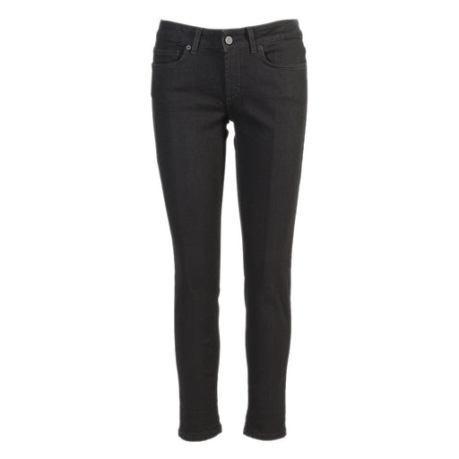 DONDUP womens black stretch cotton Jeans