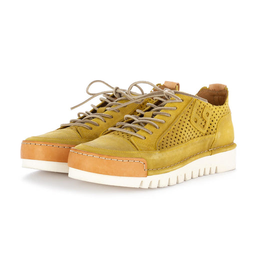 bng real shoes la mais yellow suede