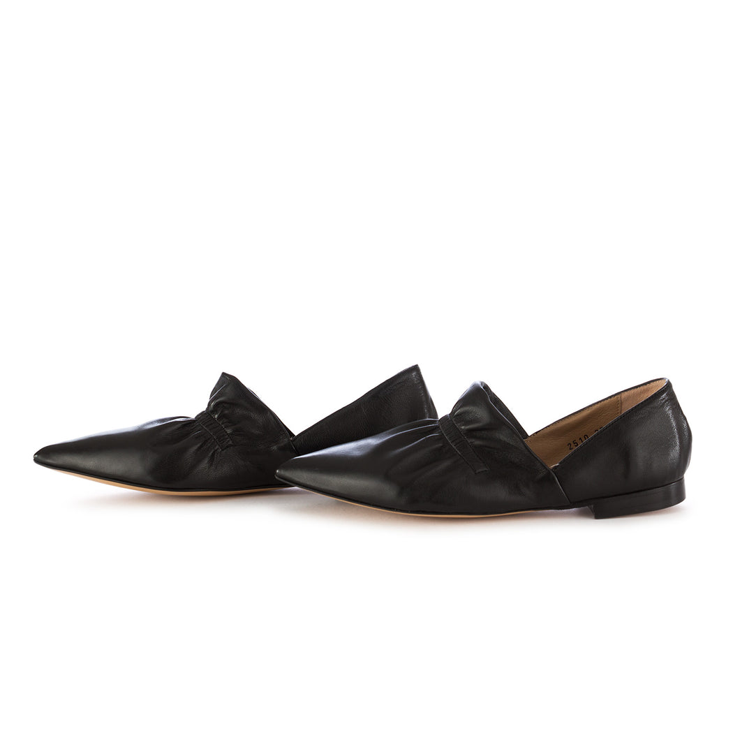 poesie veneziane womens flat shoes black