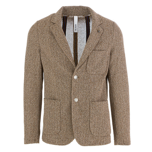 Distretto 12 mens jacket cotton brown